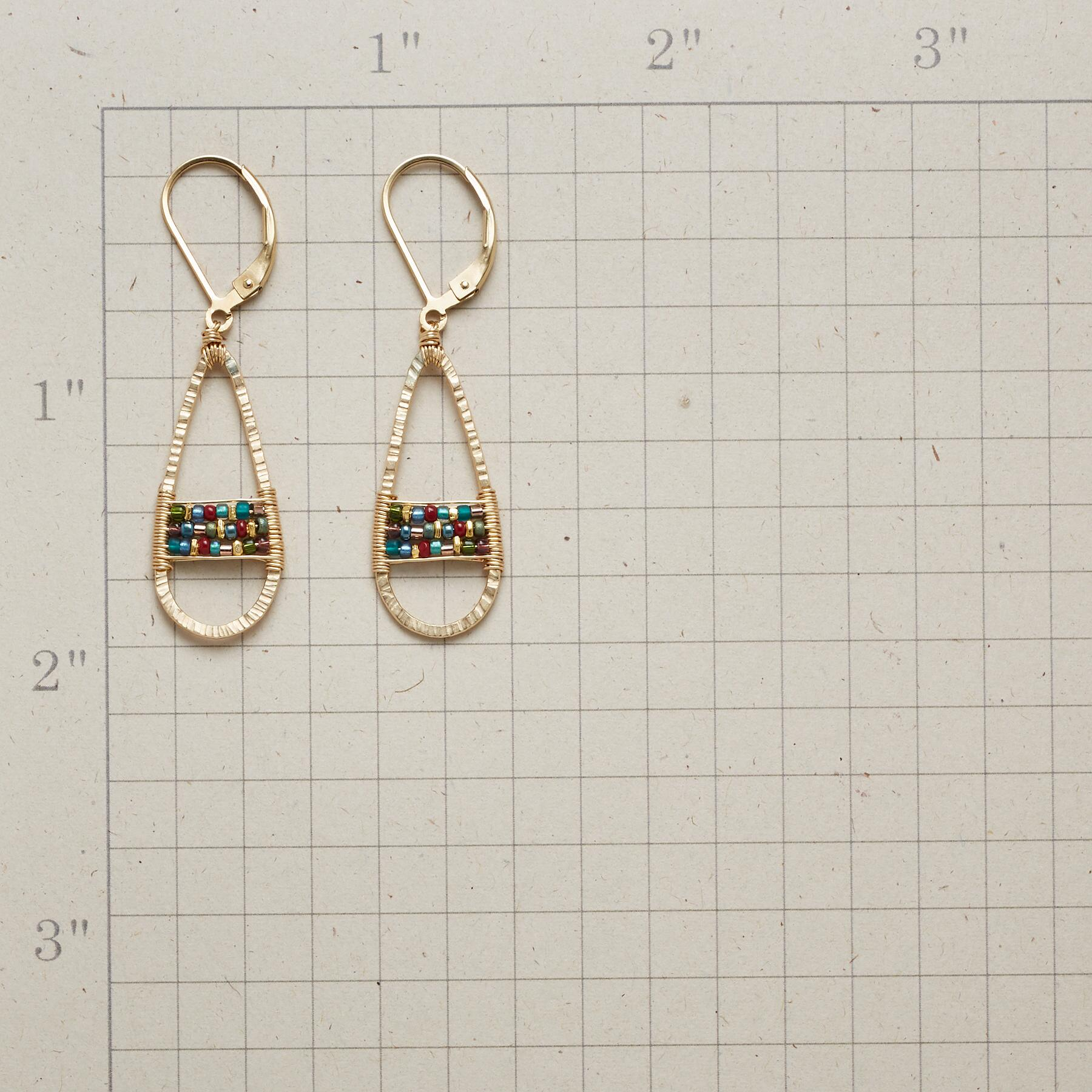 TAPESTRY EARRINGS: View 2