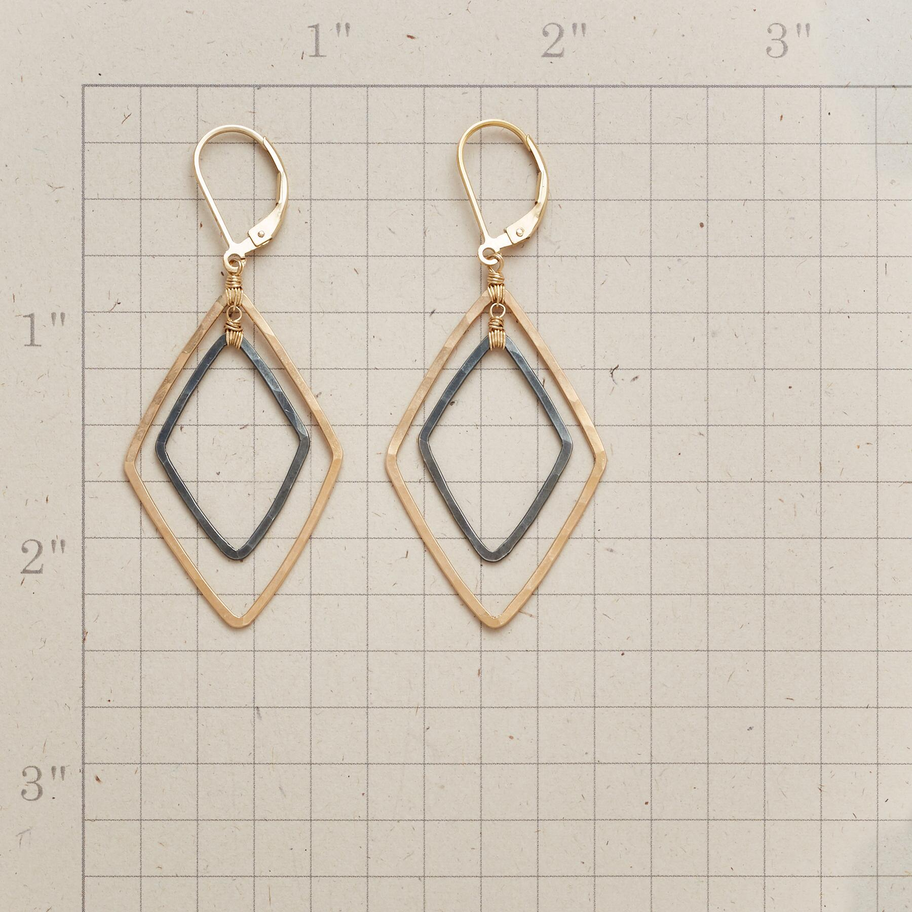 TWO OF DIAMONDS EARRINGS: View 2