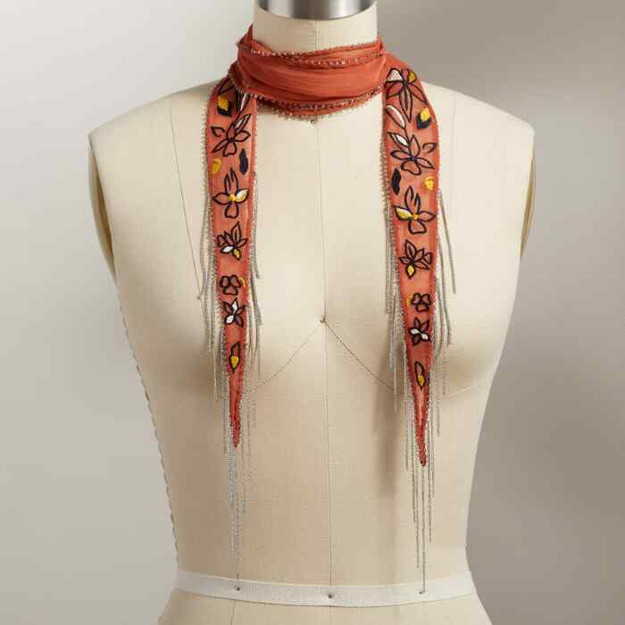 MORNING MEADOW SCARF