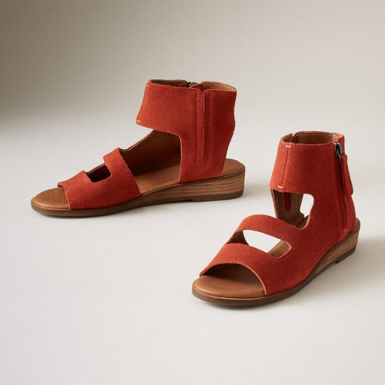 PERSIMMON SPICE SANDALS