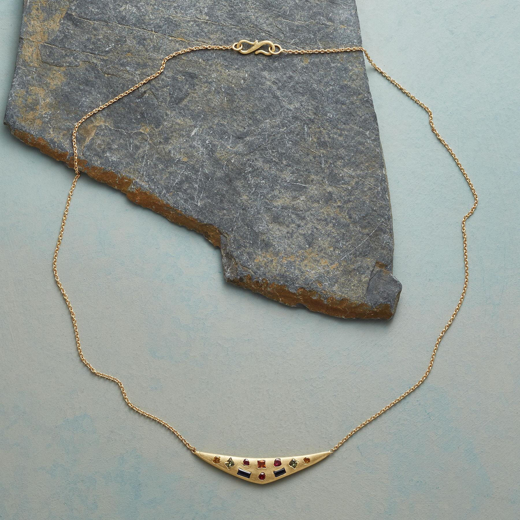 SAPPHIRE SWALLOW'S WING NECKLACE: View 2