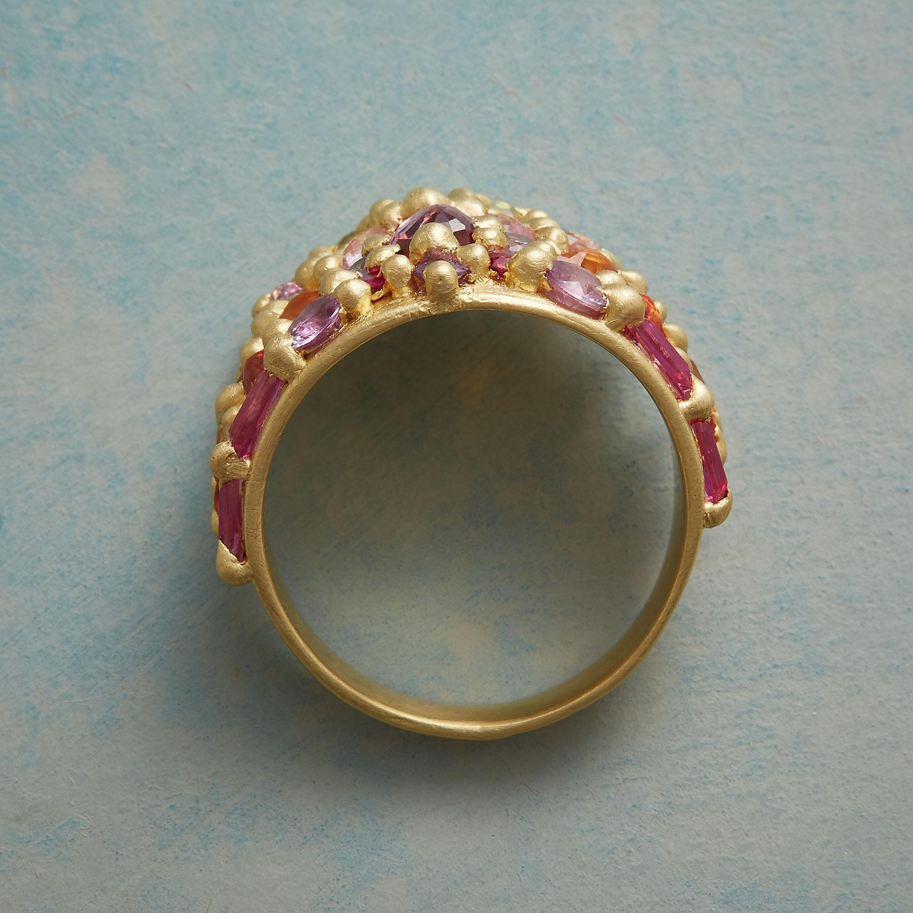 APHRODITE SAPPHIRE RING: View 2