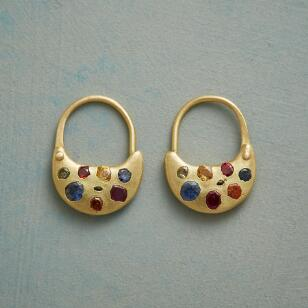 SAPPHIRE SOIREE EARRINGS