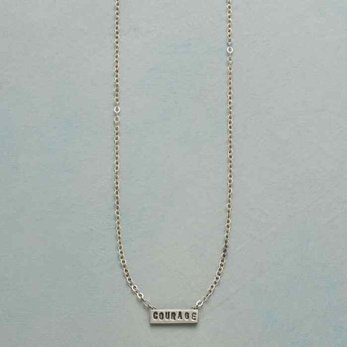 SACRED SENTIMENT COURAGE NECKLACE