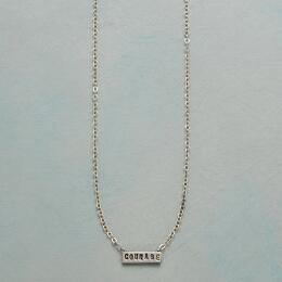 COURAGE SENTIMENT NECKLACE