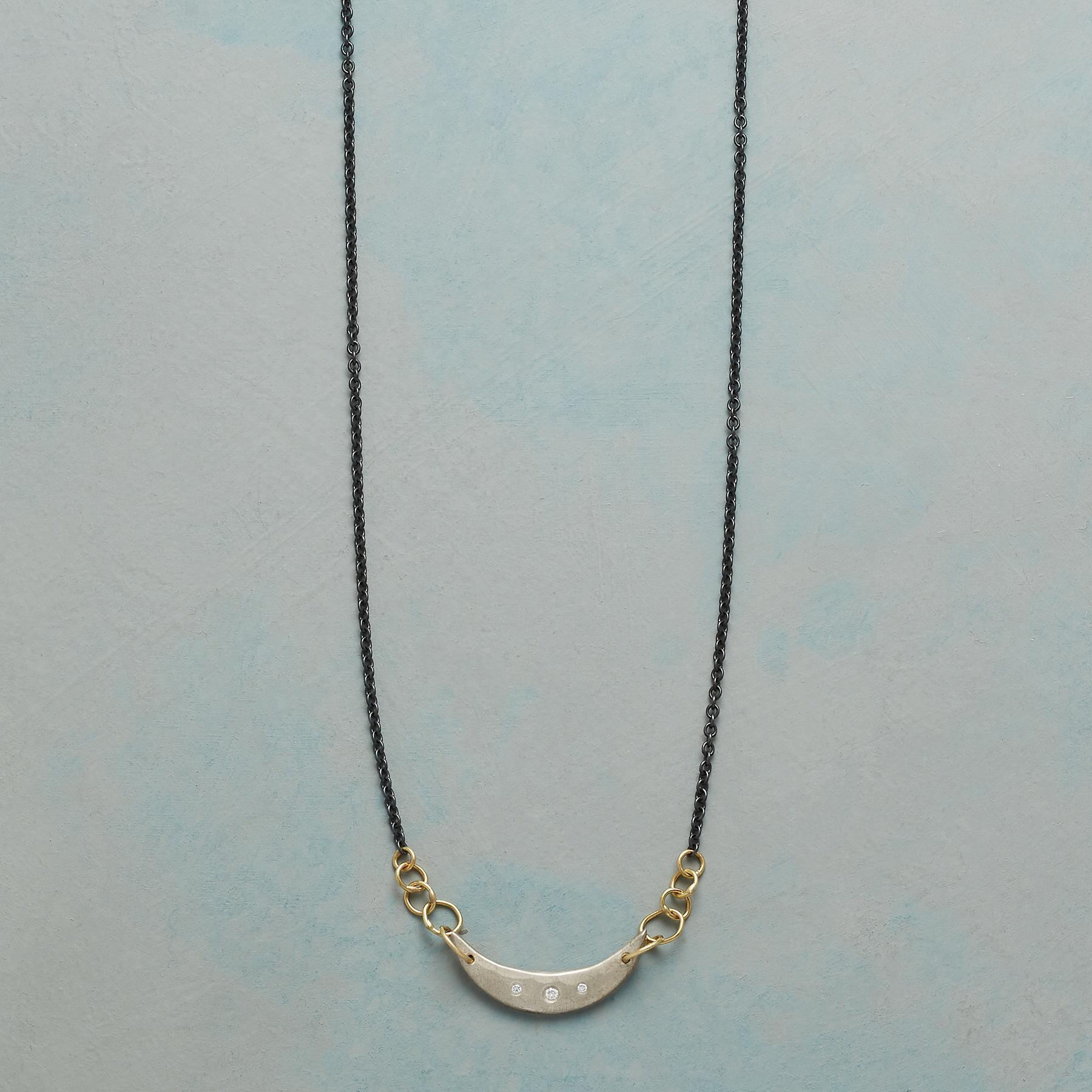 MOON CRADLE NECKLACE: View 1
