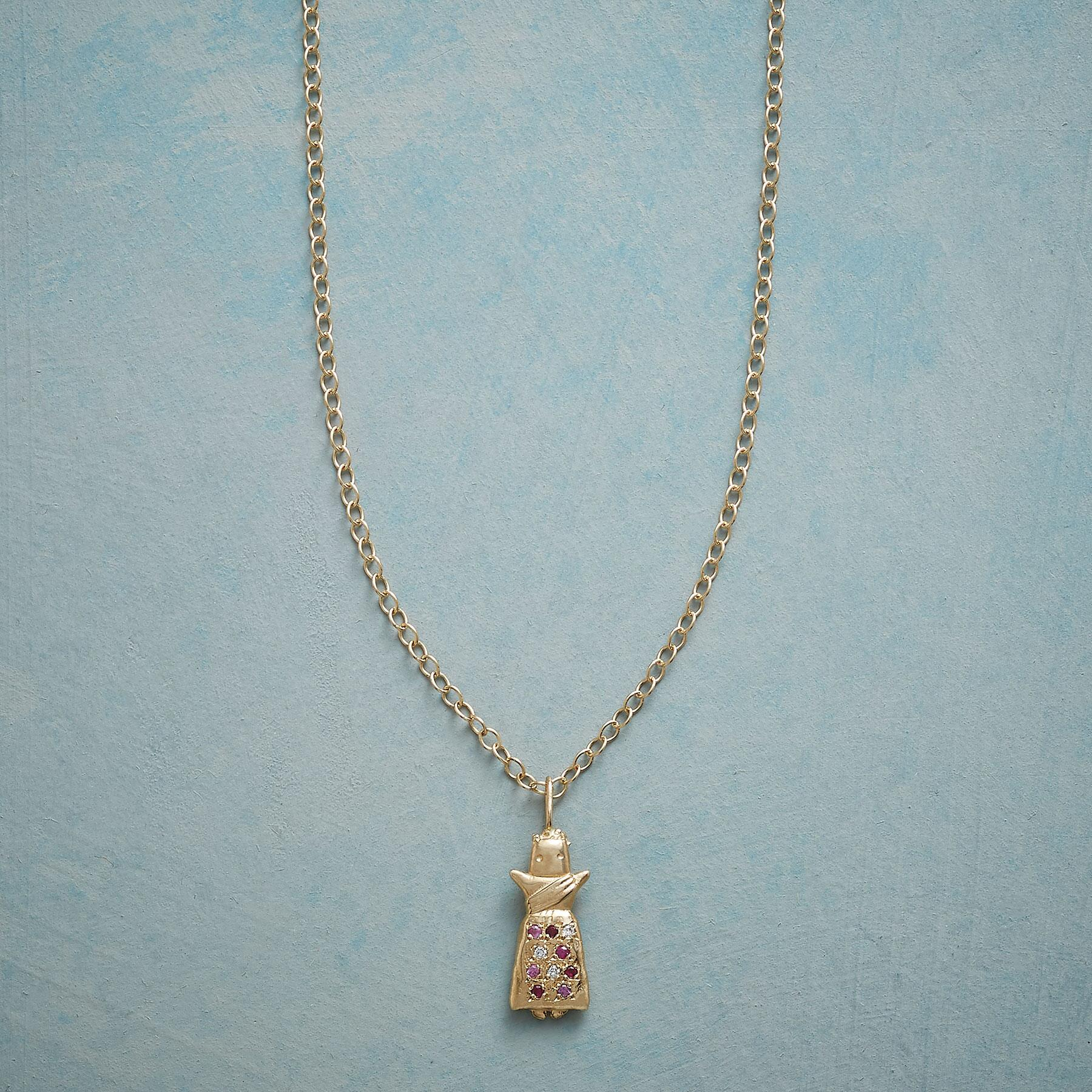 I'X WORRY DOLL NECKLACE: View 1