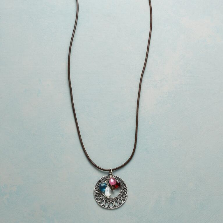 LACY LUNA NECKLACE