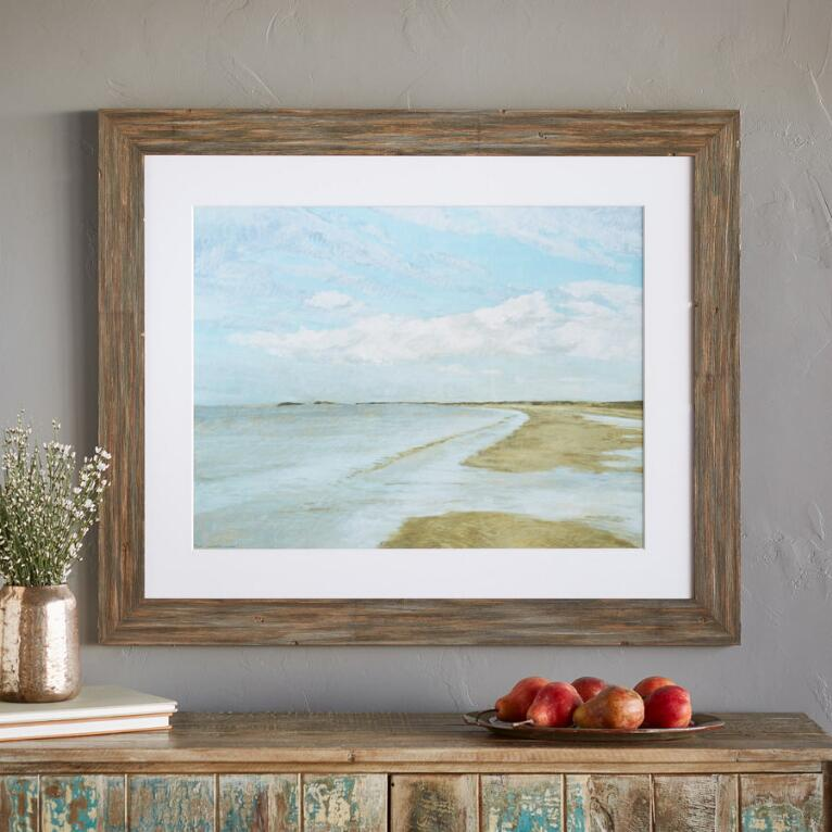 NORMANDY SHORE PRINT