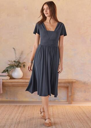 TWILIGHT WALTZ DRESS-PETITE