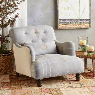 TAZA MOROCCAN CLUB CHAIR