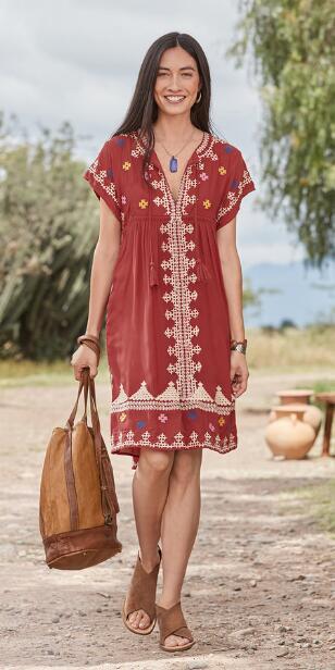 SACRED VALLEY DRESS