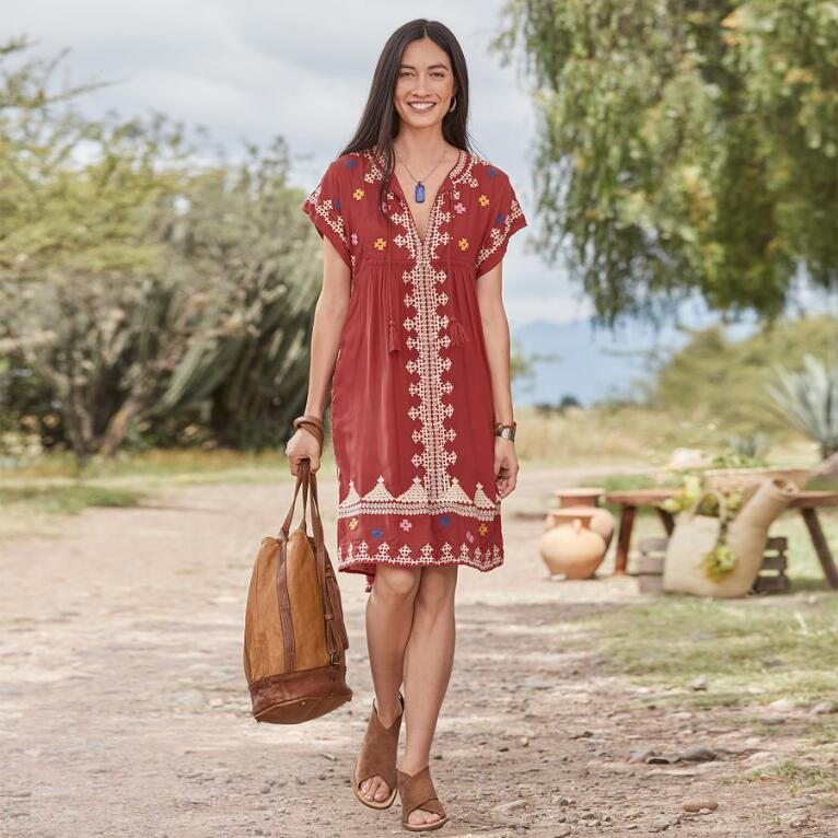 SACRED VALLEY DRESS PETITE