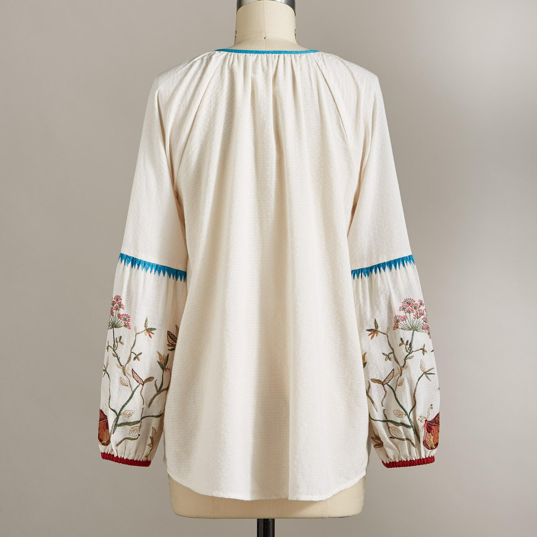 PALOMA EMBROIDERED TOP: View 4