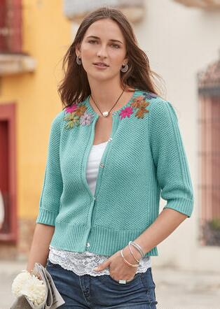 ANTOINETTE BLOOM SWEATER