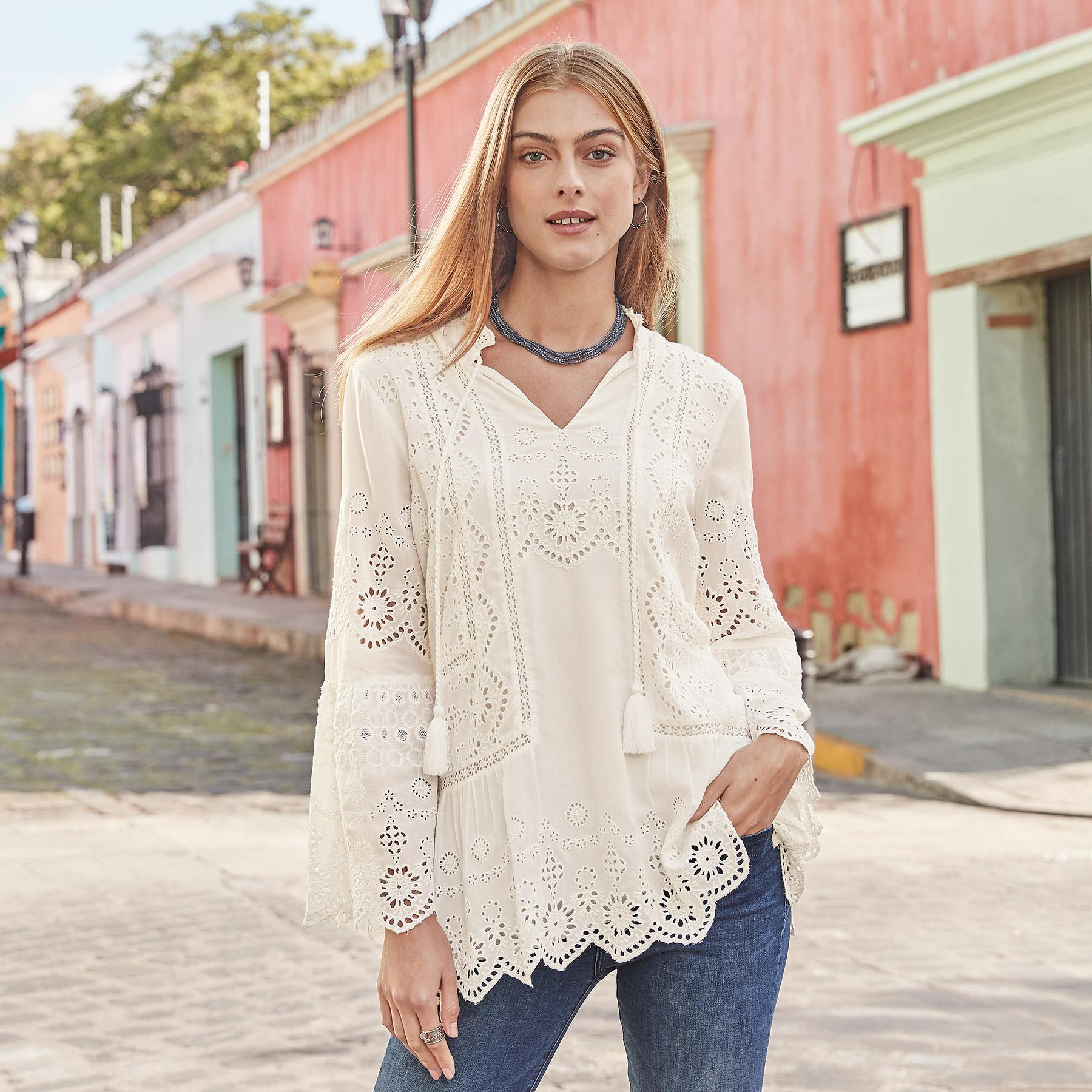 LISETTE TUNIC: View 1