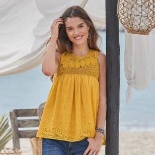 MARIBELLE SUNLIGHT TOP