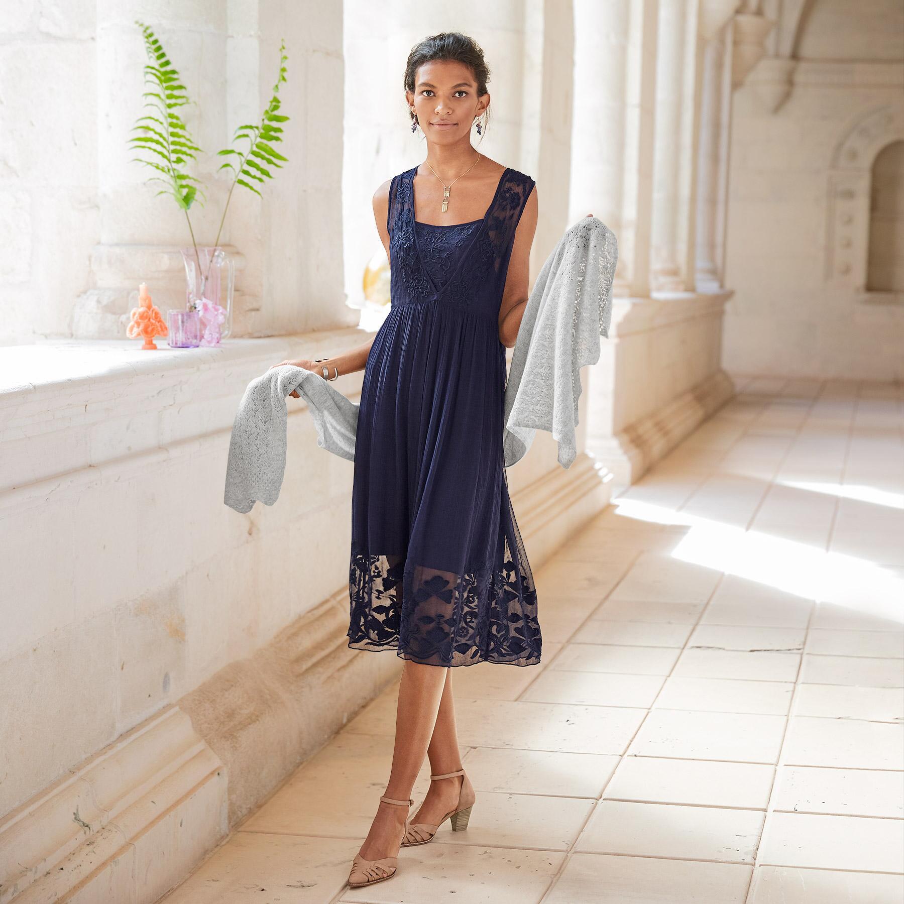 ANGELINA DRESS - PETITES: View 1