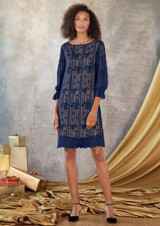 EMMA GRACEFUL SHEATH DRESS