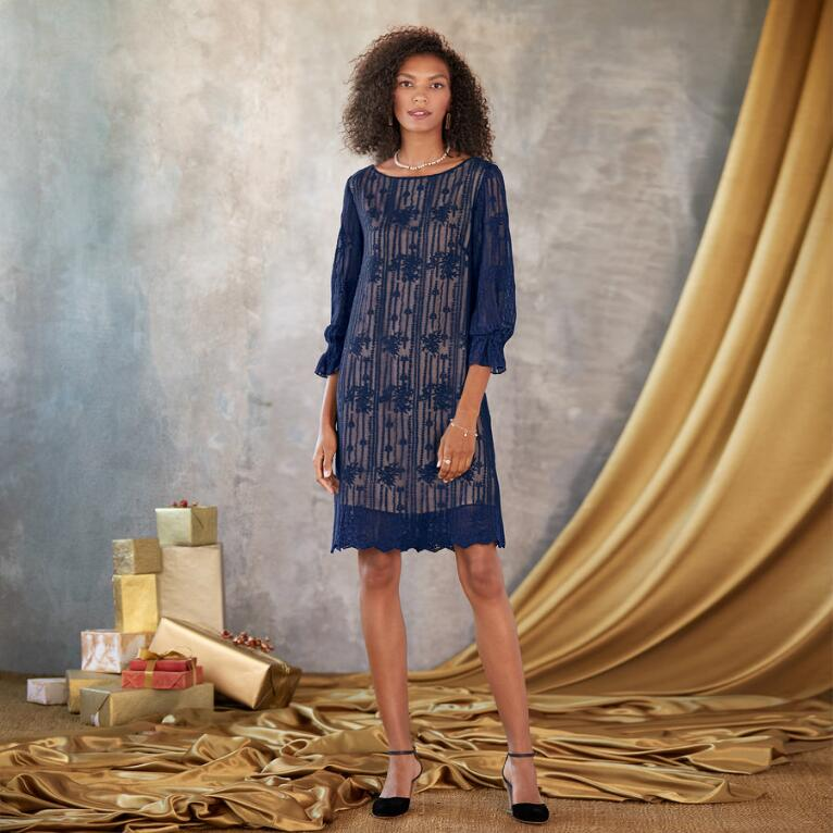 EMMA GRACEFUL SHEATH DRESS - PETITES