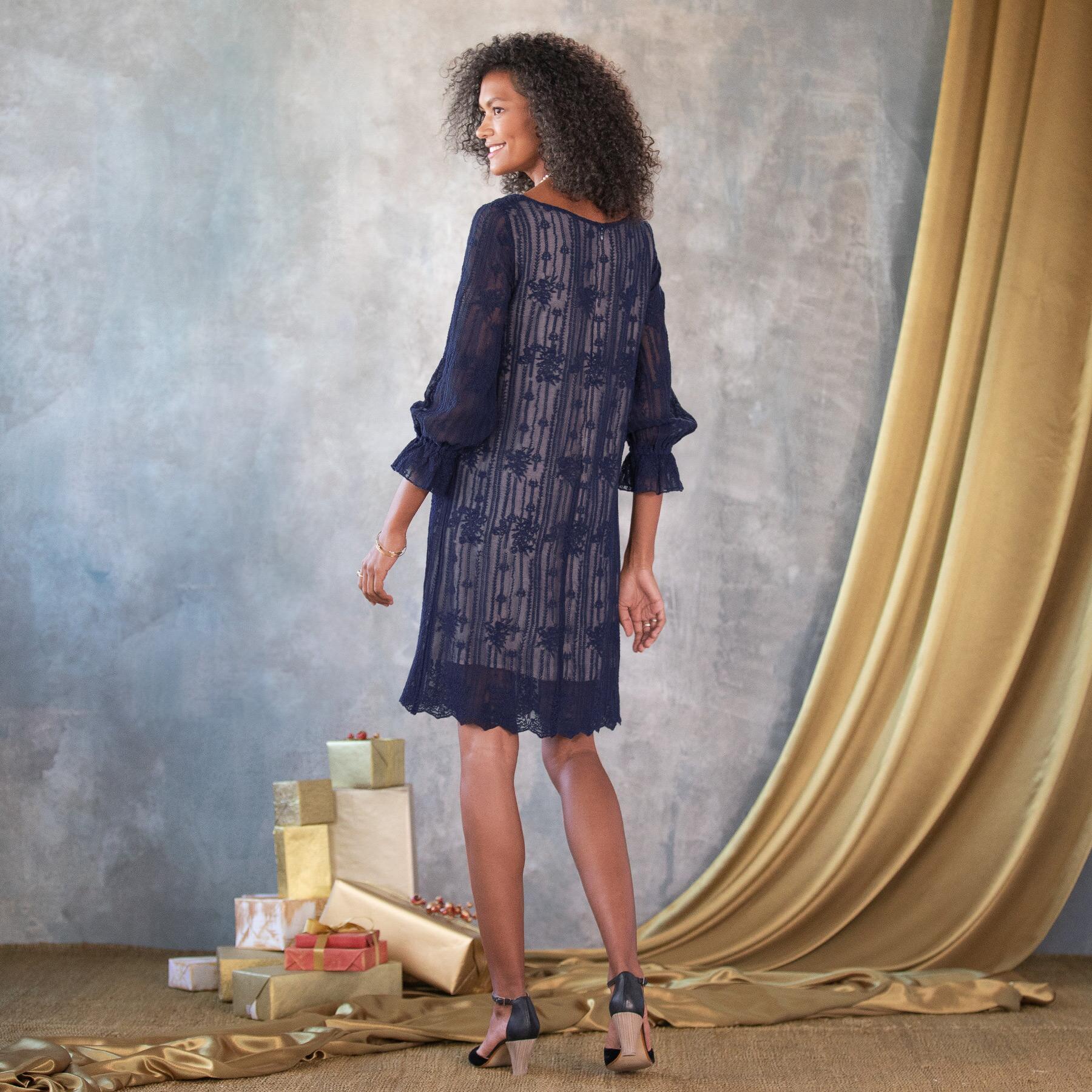 EMMA GRACEFUL SHEATH DRESS - PETITES: View 2