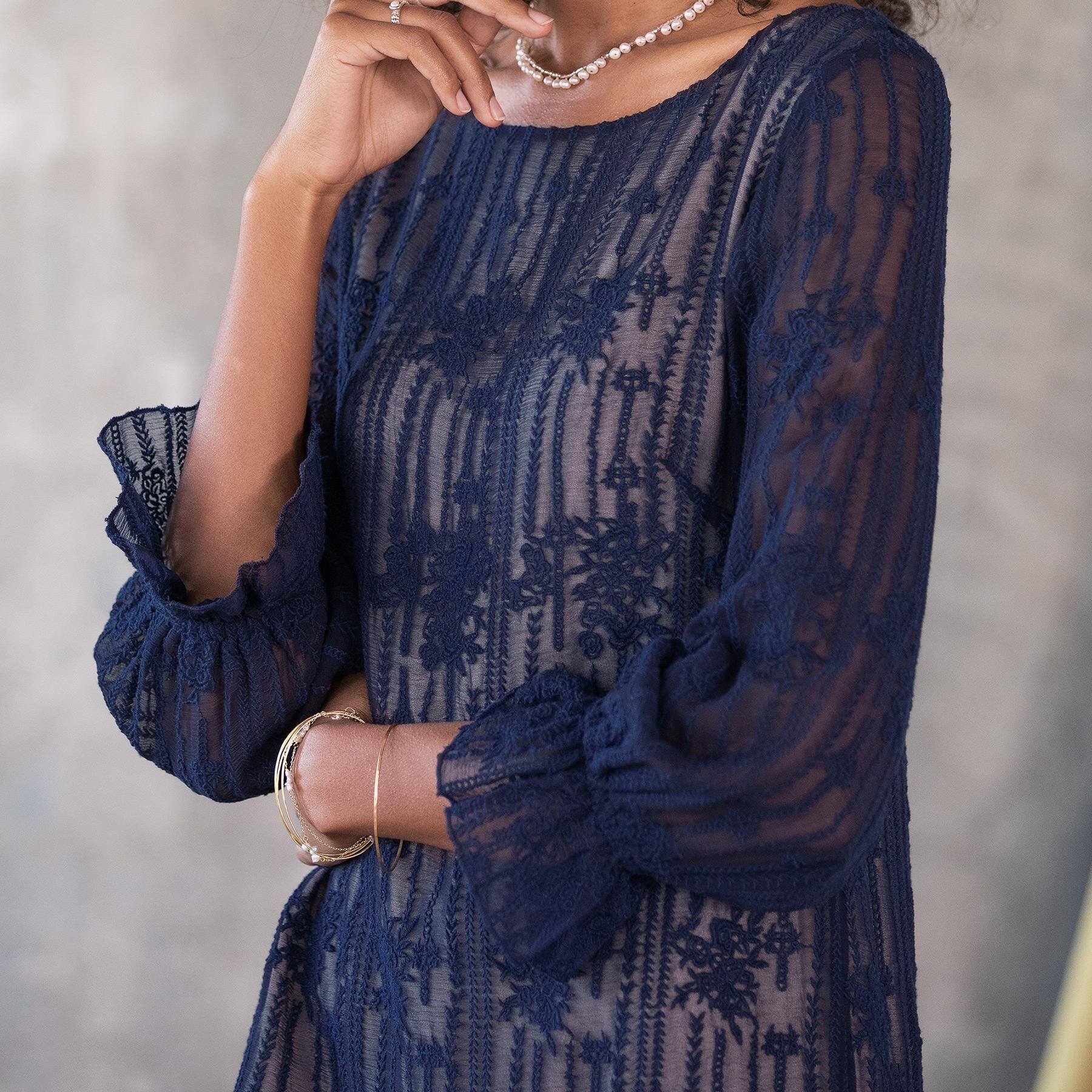 EMMA GRACEFUL SHEATH DRESS - PETITES: View 3
