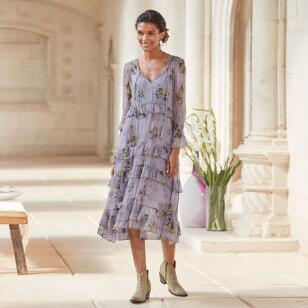 NATALIE FLOUNCE DRESS