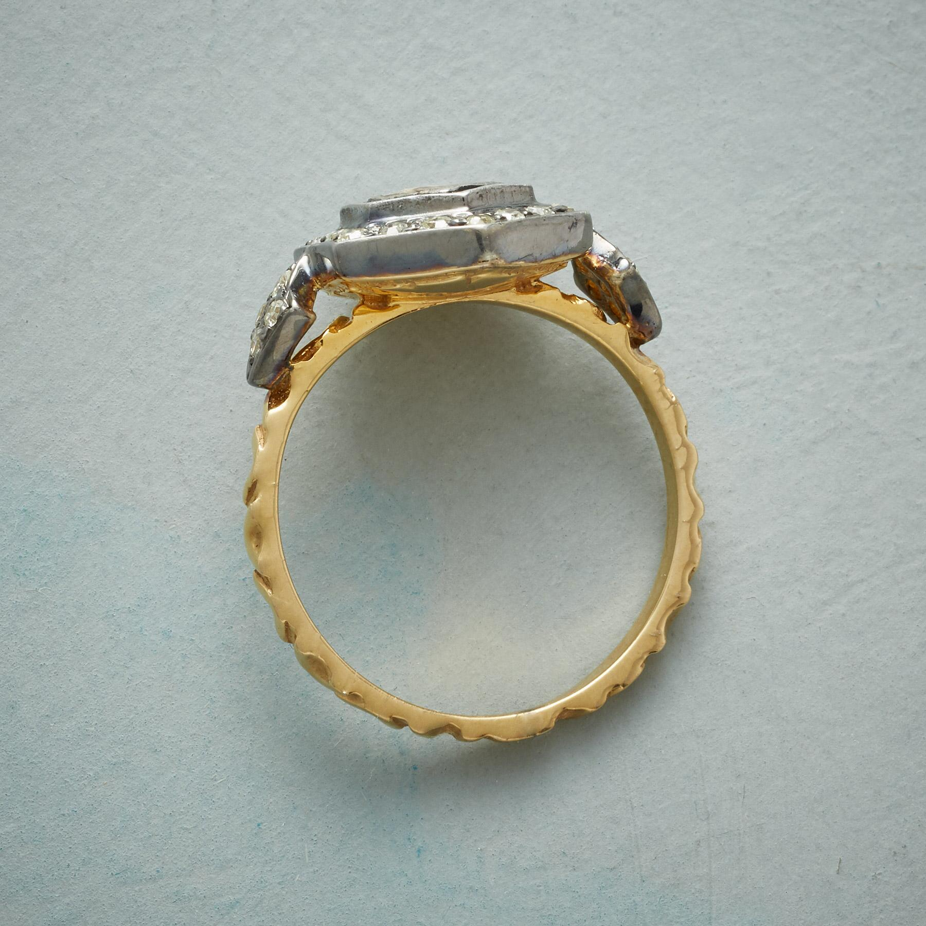 DIAMOND HEXAGON RING: View 2