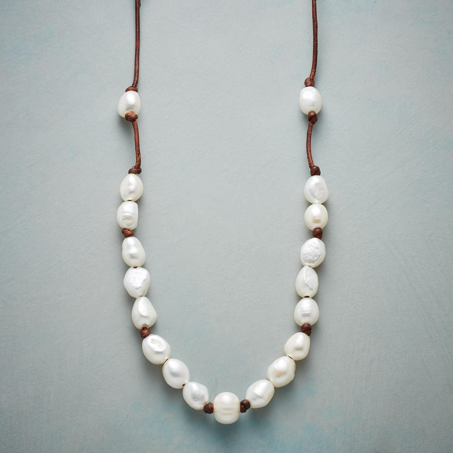 PEARLY PATH NECKLACE: View 1