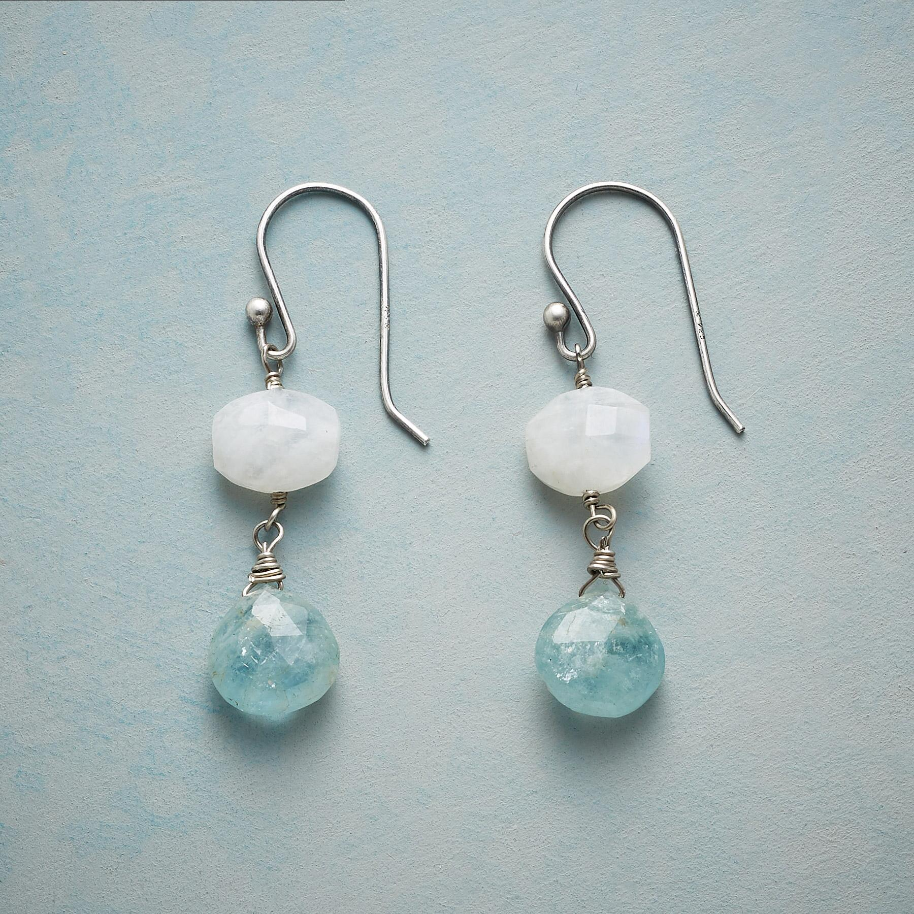 MOON OVER WATER EARRINGS: View 1
