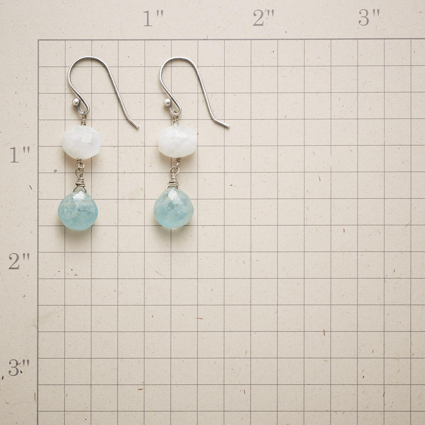 MOON OVER WATER EARRINGS: View 2