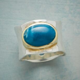 ENRAPTURED BY BLUE RING