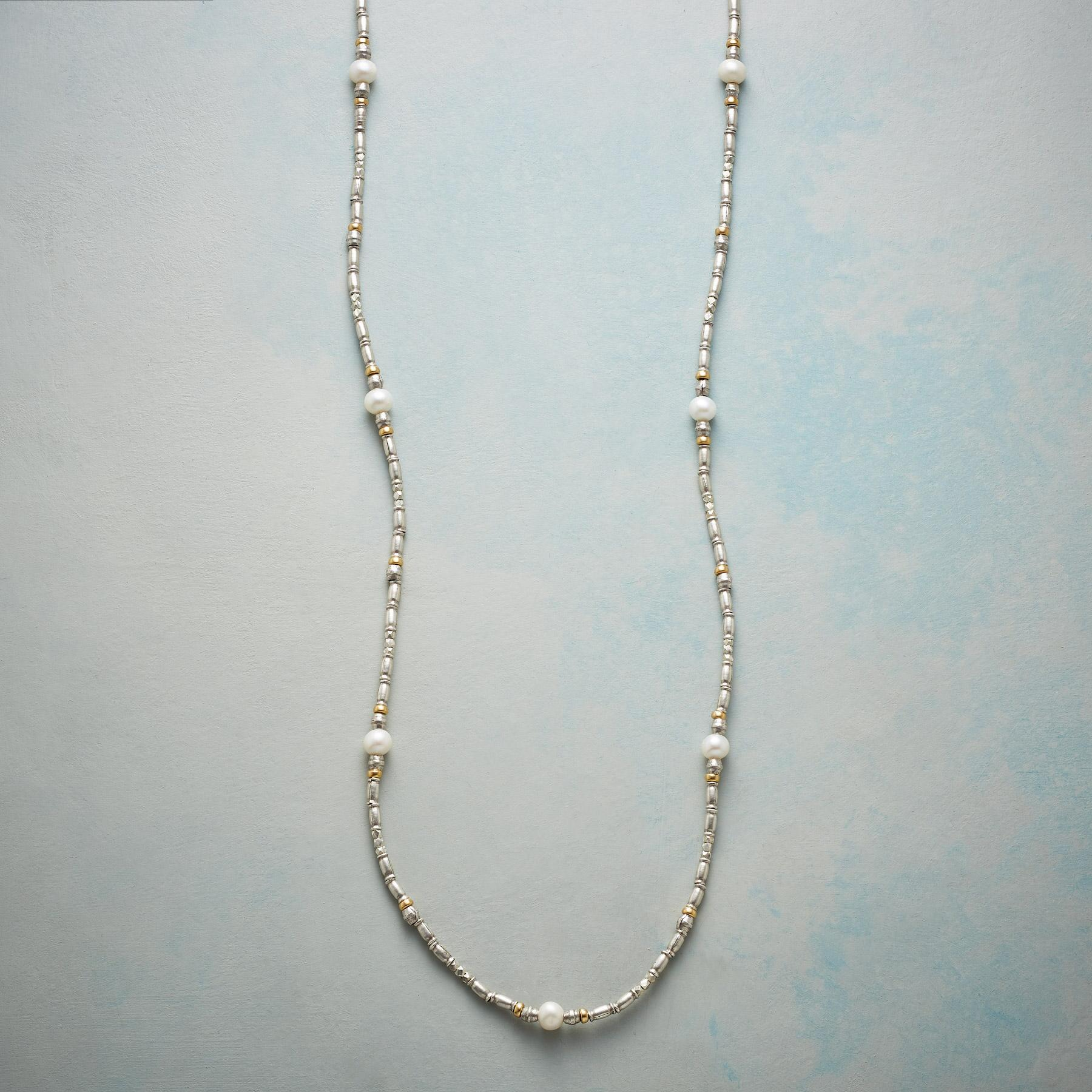 STRAND OF SIMPLICITY NECKLACE: View 1