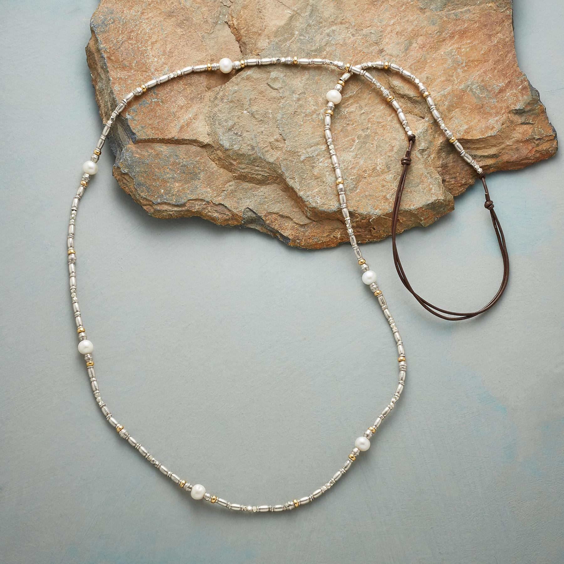 STRAND OF SIMPLICITY NECKLACE: View 2