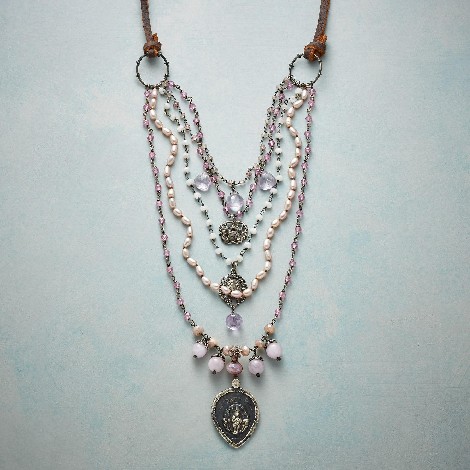 SET YOUR INTENTION NECKLACE: View 1