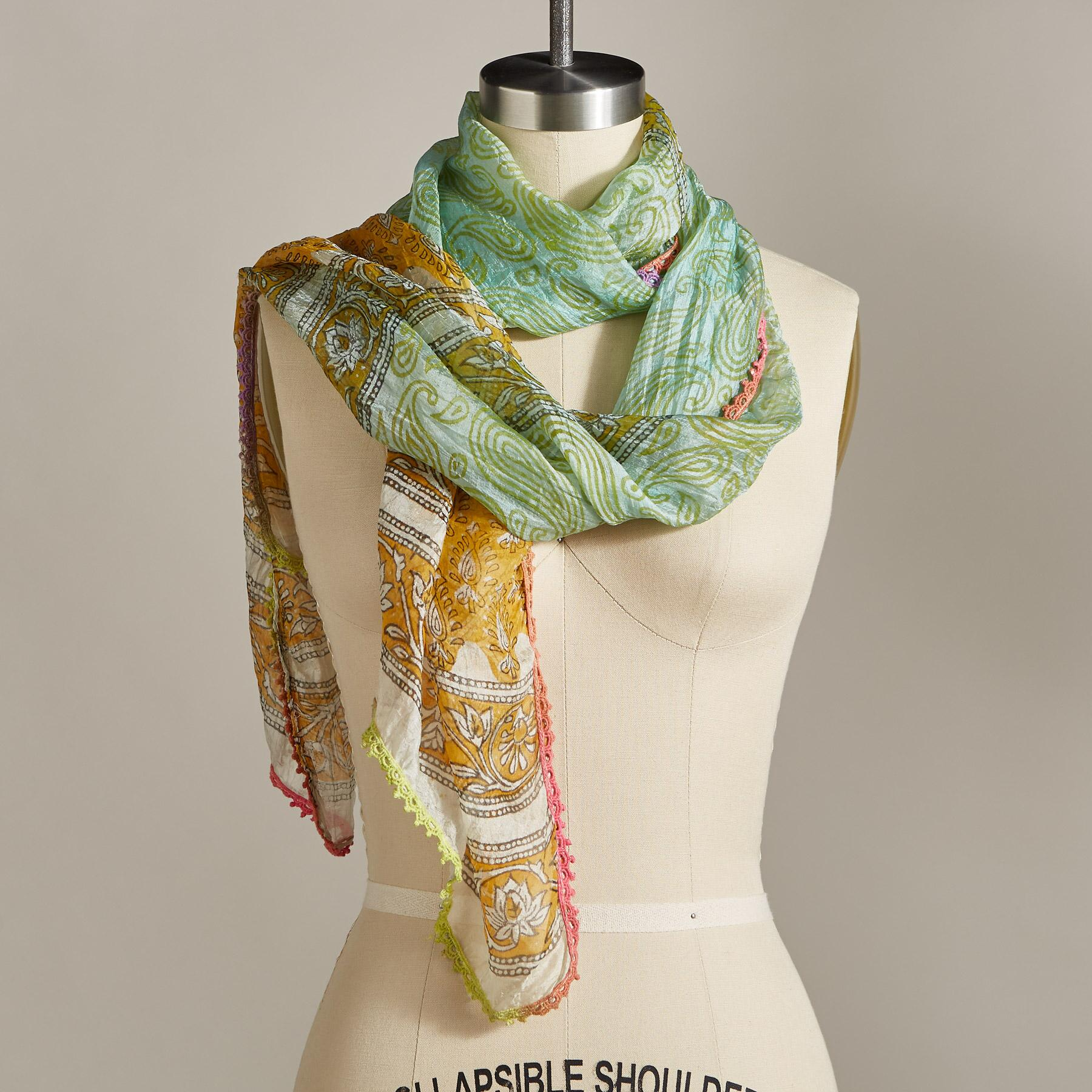 HINT OF SUN SCARF: View 1