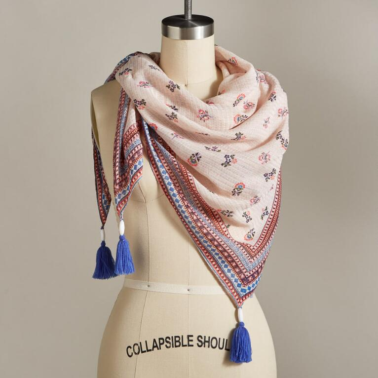 TREASURED BLOOM SCARF