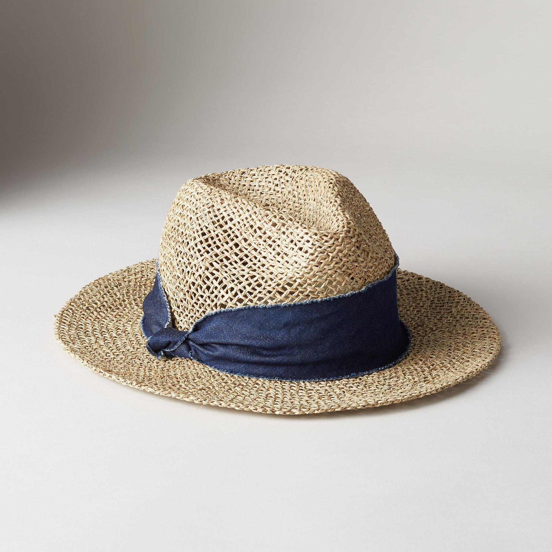 TWISTED WEAVE HAT: View 1