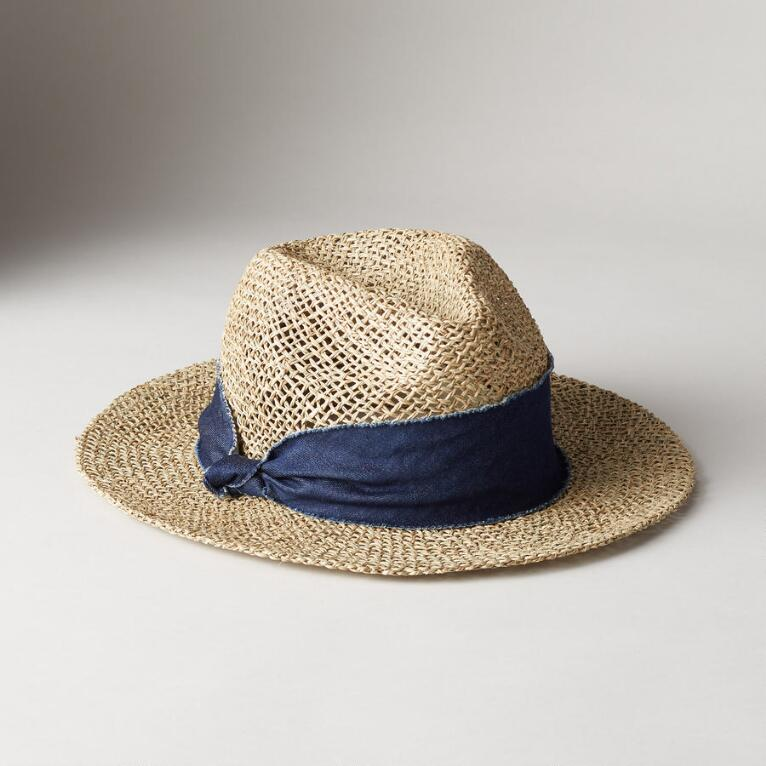TWISTED WEAVE HAT