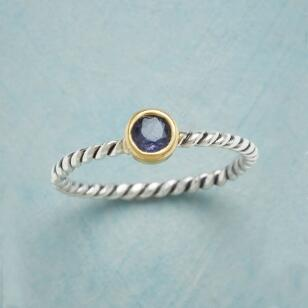JUST RIGHT IOLITE RING