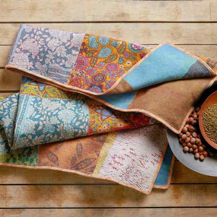 WHIMSY PATCHWORK THROW