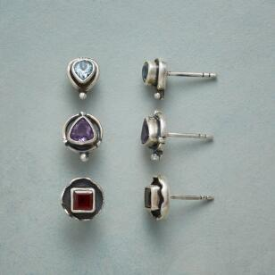 ROYAL THREE EARRING TRIO