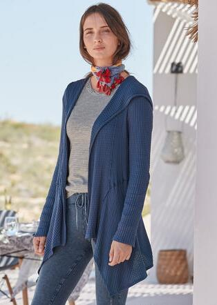 GO WITH THE FLOW CARDIGAN