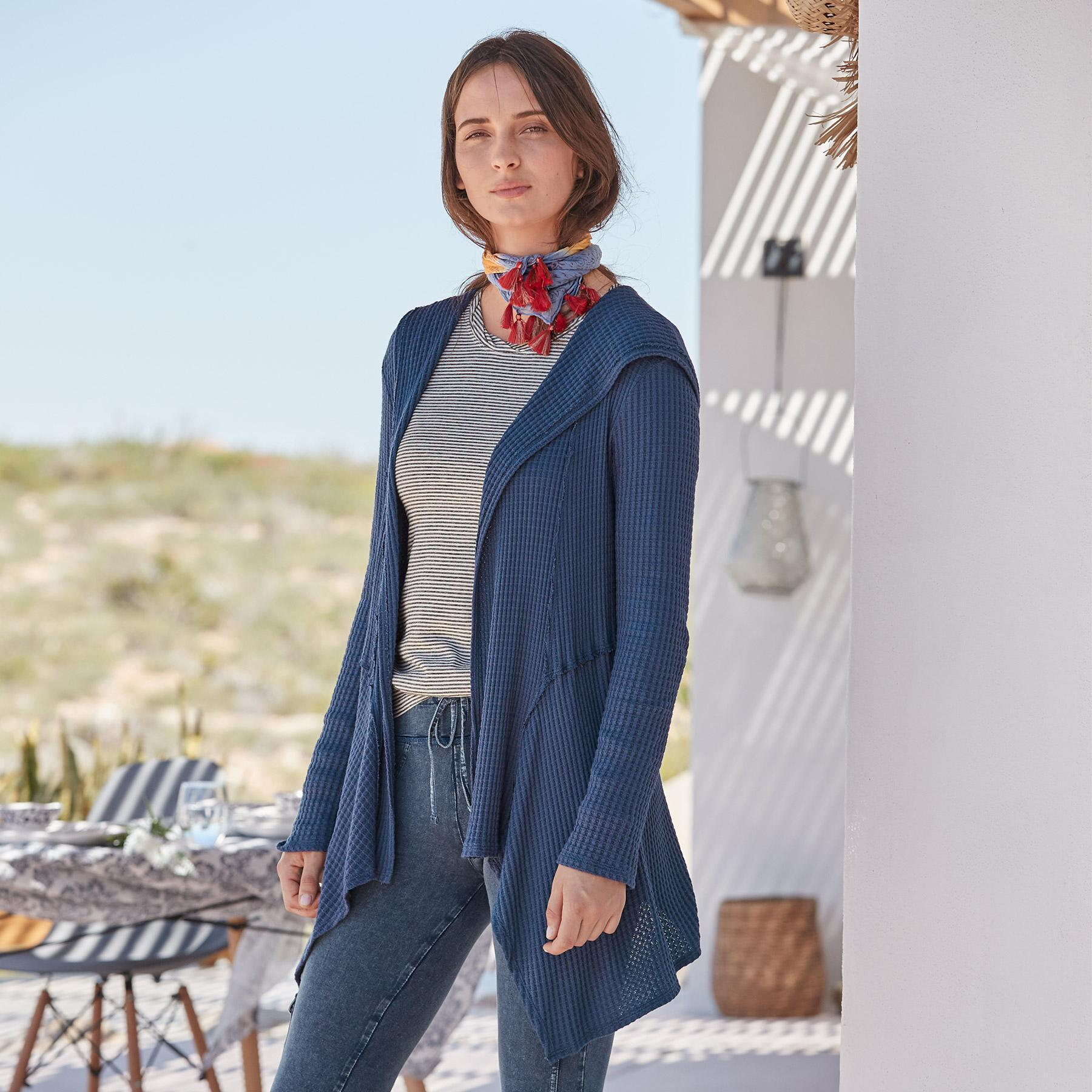 GO WITH THE FLOW CARDIGAN: View 1