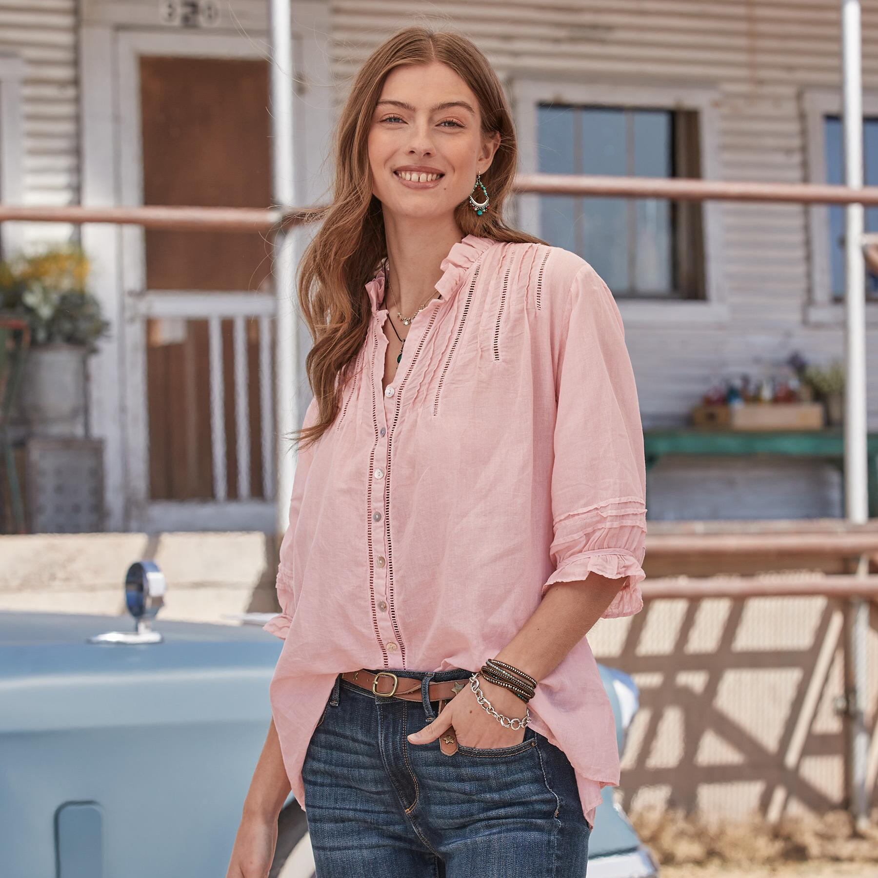 ALESSANDRA BLOUSE: View 2