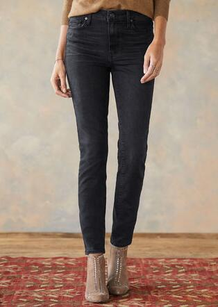 HOXTAN ANKLE BLACK WILLOW JEAN