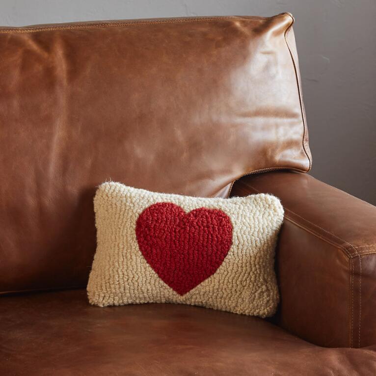 Red Heart Mini Pillow Sundance Catalog