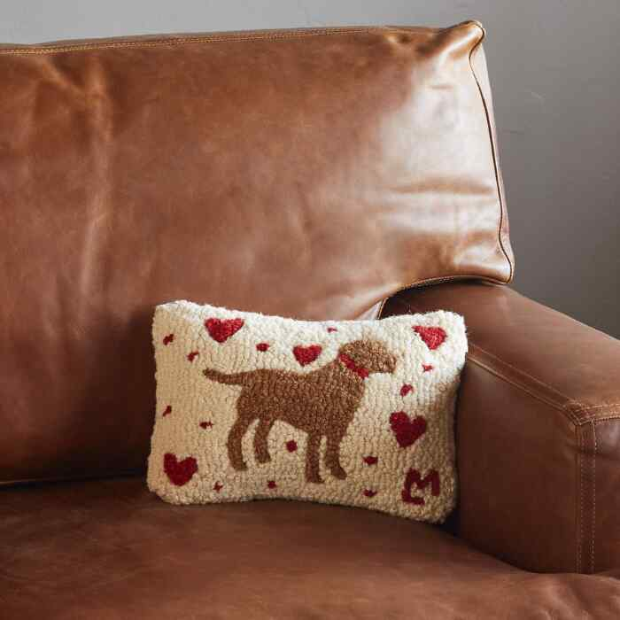LOVABLE LAB MINI PILLOW
