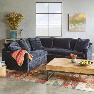 LOWELL TWO-PIECE SECTIONAL SOFA
