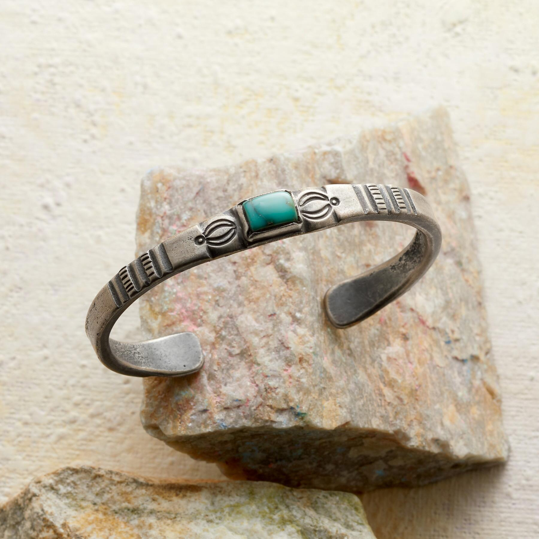 CHEYENNE TURQUOISE CUFF: View 1
